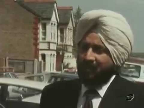 Rare 1973 UK Footage About the Sikh Turban and Helmet