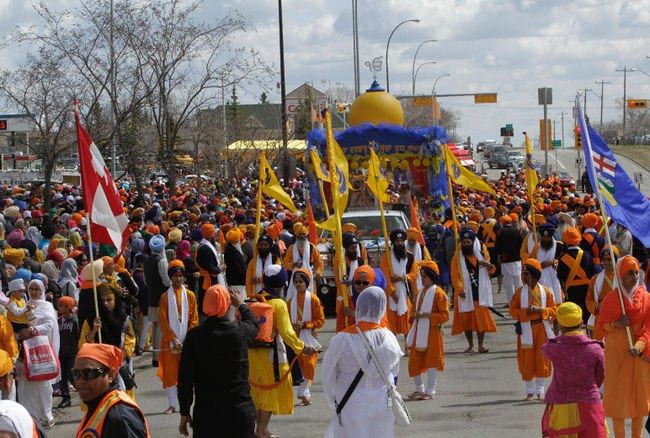 More Than Twenty Thousand Sikhs Gather For Annual Nagar