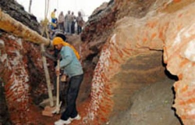 A similar tunnel was discovered at Sri Lohgarh Sahib area in Amritsar in 2010