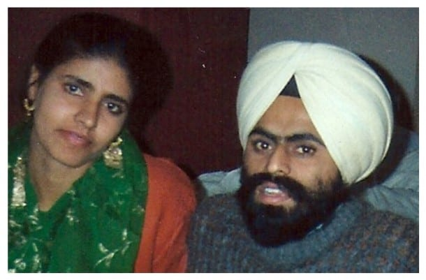 File Photo: Prof. Bhullar with his wife