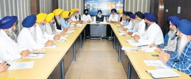 SGPC Executive Committee Lacking Representation from Haryana, as well as other parts of India
