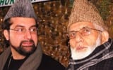 Mirwaiz Umar Farooq and Syad Ali Shah Gilani