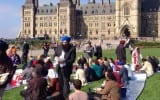 Sikh Youth Federation Raises Awareness at Canadian Parliament