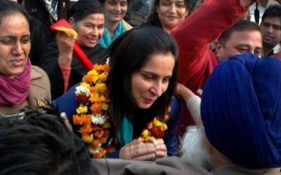 BJP Fields Navjot Kaur to Tackle Hooda's Weapon of HSGMC