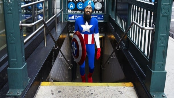 Captain America is a Sikh. You Got a Problem With That?