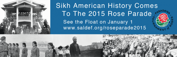 Historical Rose Bowl Parade Will Feature 125 Plus Years of Sikh American History