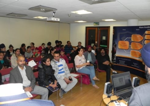 Over 100 Parents Take First Chance to Hear Plans for Atam Academy, Ilford UK