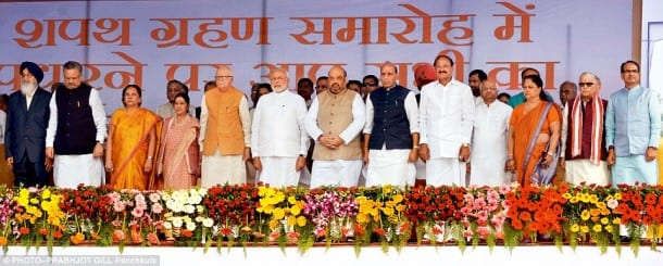 Oath Ceremony of Haryana Chief Minister Opens Path for Transfer of Chandigarh to Punjab