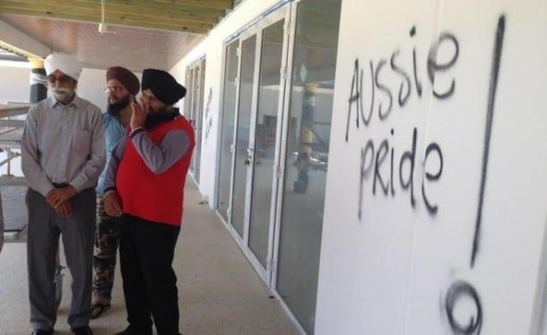 Confused Vandals Target Australian Gurdwara
