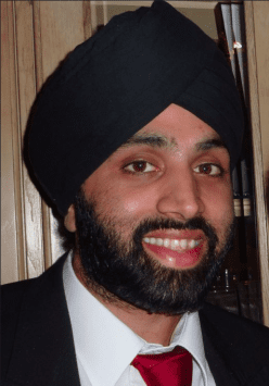 London UK: President of British Sikh Doctors Organisation Nominated for Prize at Asian Professional Awards 2014