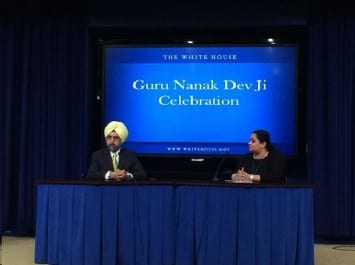 White House Invites United Sikhs' Speaker for Guru Nanak Dev Ji Celebrations