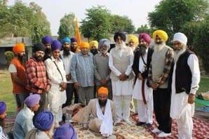 Mann and Baba Dhadrianwale Show Solidarity with Bhai Gurbaksh Singh Khalsa