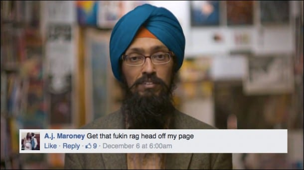 Facebook Features Sikh Man In Video, Racists Can't Handle It