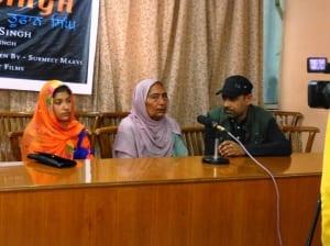 Sister and Daughter of Bhai Jugraj Singh Toofan in Press Conference