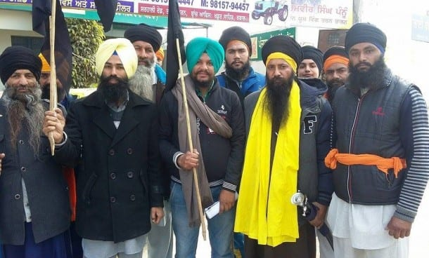 Sikh Youth Front Observes 26 January as 'Black Day' in Tarn Taran