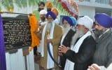 Akal Takht Sahib Jathedar Giani Gurbachan Singh inaugurating the museum at Sabhraon