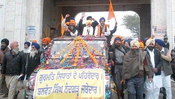 Departure_Jathedar Nandgarh