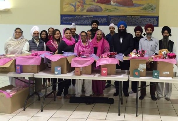 Sikhs Serve Shelters Across Canada For One Billiion Rising