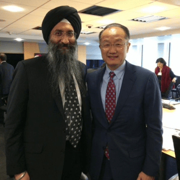 EcoSikh Joins World Bank in Working to End Extreme Poverty