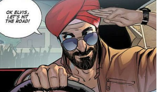 Meet the First Sikh Comic Super Hero