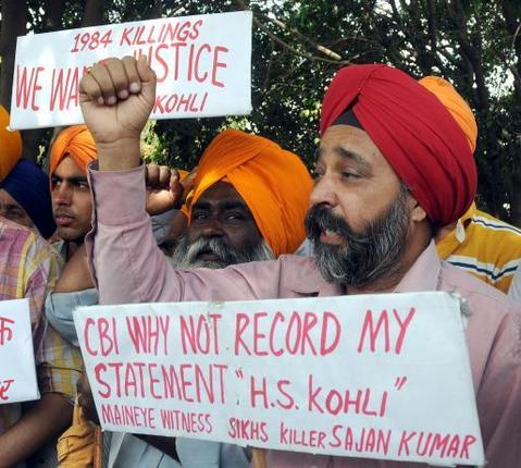 What was the Sikh Genocide of 1984?