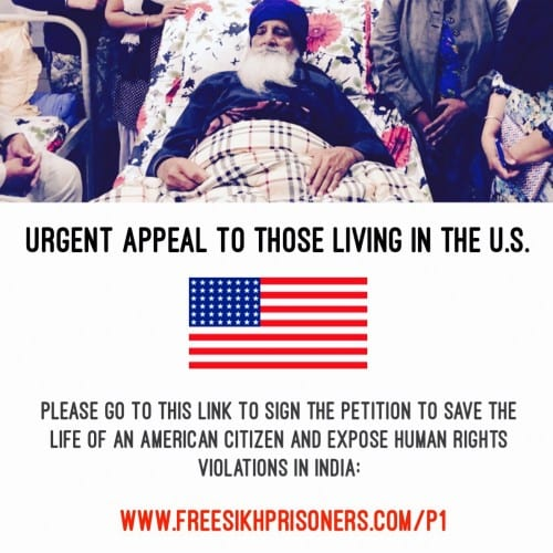 Petition for Bapu Surat Singh Khalsa Launched in United States