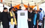 Inauguration Of Plate In Memory Of Sikh Soldiers That Died In France