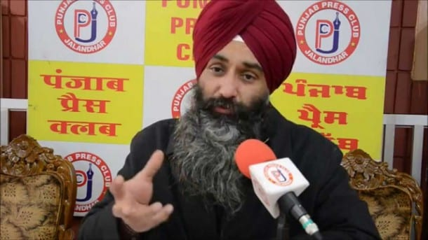 "Manjhpur Questions ""Helplessness"" of Badal on Sikh Prisoners' Release Issue"