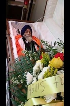 Body of Bhai Malkiat Singh Who Passed Away in USA Doing Kirtan To Be Cremated in Amritsar Tomorrow
