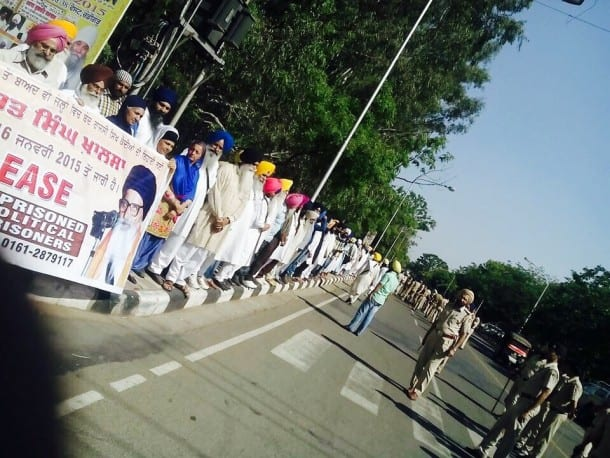 Massive Chandigarh Rally Held For Release of Sikh Political Prisoners