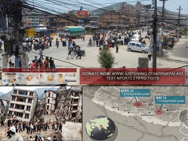Sikh Volunteers Continue Aid Work in Nepal After 2nd Earthquake