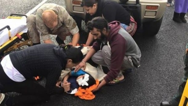 NZ Sikh Youth Removes Turban to Help Injured Child