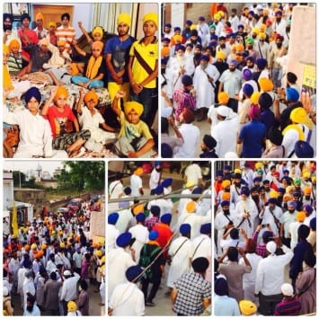 Massive March Held in Support of Bapu Surat Singh from Akal Takht Sahib to Hasanpur