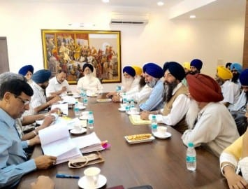Sangarsh Committee Meets Punjab Chief Minister To Discuss Issue of Sikh Political Prisoners