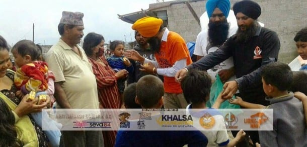 UK Sikh Organizations form Coalition for Nepal Earthquake Relief