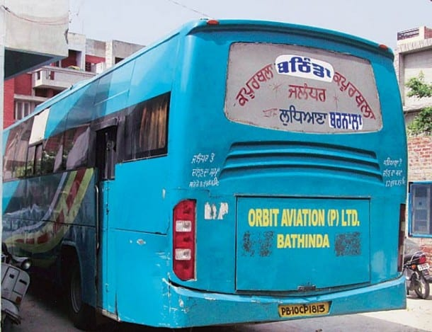 Moga Incident: Orbit Buses Off the Road in Punjab For The Time Being