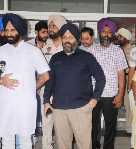 DSGMC Leaders Meet Prof. Davinderpal Singh Bhullar in Hospital
