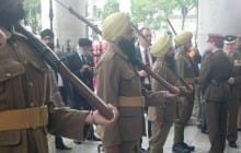 Exactly After 100 Years, Commemoration Takes Place for the Sikh Regiment at the Battle of Gallipoli (Turkey)