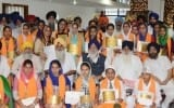 Christian and Hindu Girls Top Sikh Religious Course