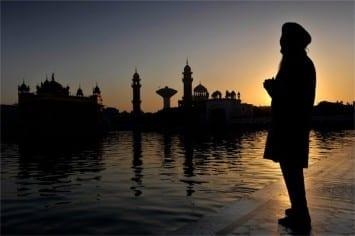 Sikh silhouette