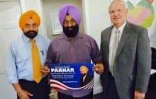 Akali Dal Amritsar (USA) Extends Support to Satnam Singh Parhar in New York
