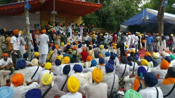Sikhs Stage Massive Protest at Jantar-Mantar Seeking ...