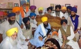 Bapu Surat Singh Khalsa Asks Simranjit Singh Mann to Contest 2017 Elections from an Allied Platform