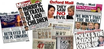 Abuse scandals in the UK