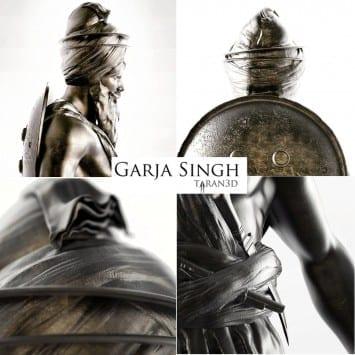 Bhai Garja Singh by Taranjit Singh UK