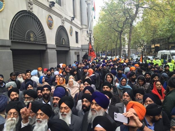 London protest oct 15 - 7