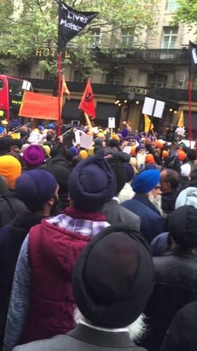 LIVE: UK Protests