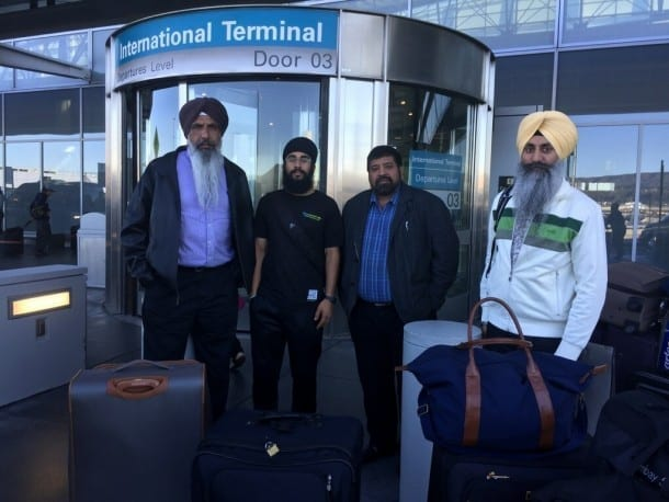North American Team Leaving for Sarbat Khalsa