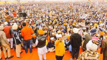 File Photo: Aam Aadmi Party gathering in Sri Muktsar Sahib