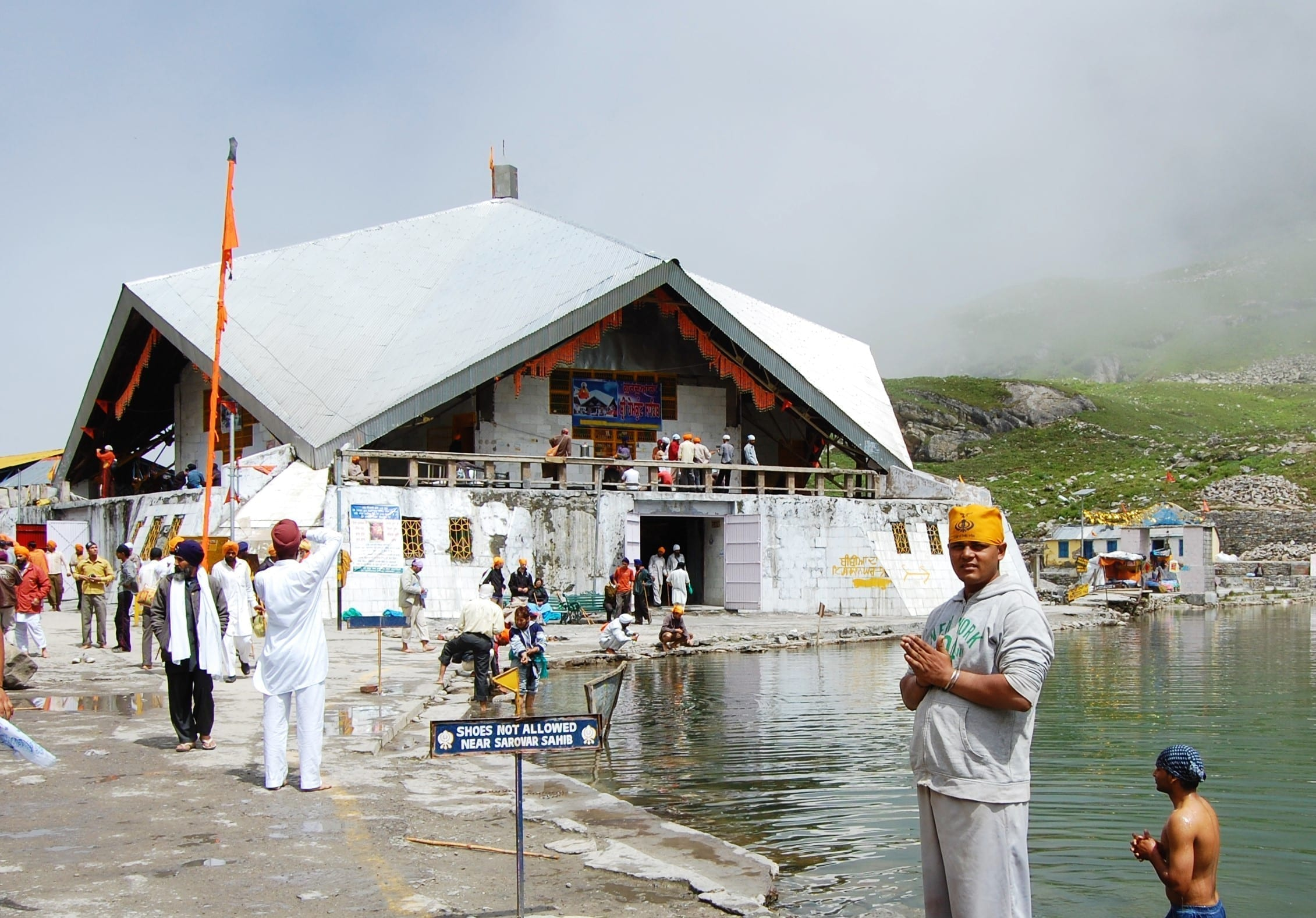 Hemkunt Sahib Gates Closed Due to Winter Season | Sikh24.com